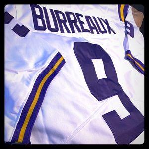"NIKE LSU Tigers Joe Burrow ""BURREAUX"" #9 Jersey"